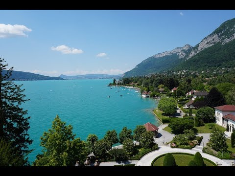 Travel to Annecy France....Charm in 4K