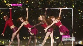 【TVPP】Miss A - Hush, 미쓰에이 - 허쉬 @ Goodbye Stage, Music Core Live