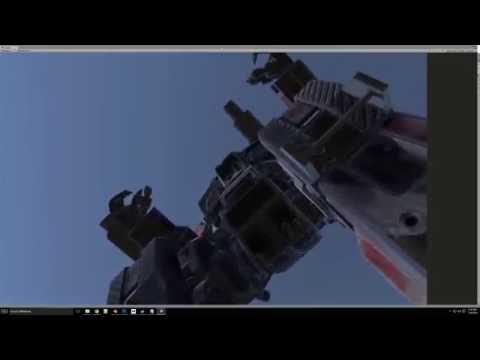 MechWarrior VR Project - Sitting in a Shadow Hawk