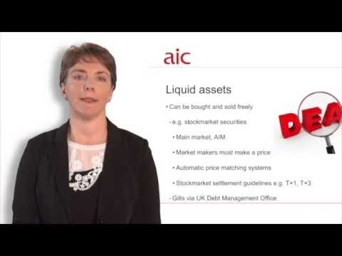 What are liquid and illiquid assets?