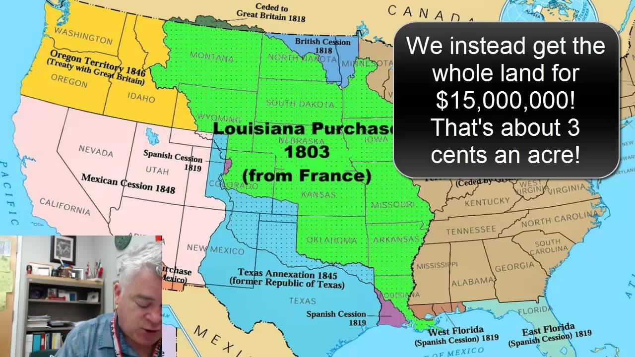 louisiana purchase manifest destiny powerpoint