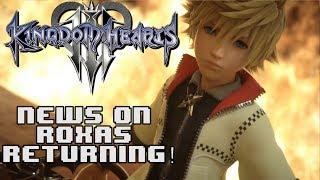 NOMURA SPEAKS ON ROXAS RETURNING IN KINGDOM HEARTS 3!