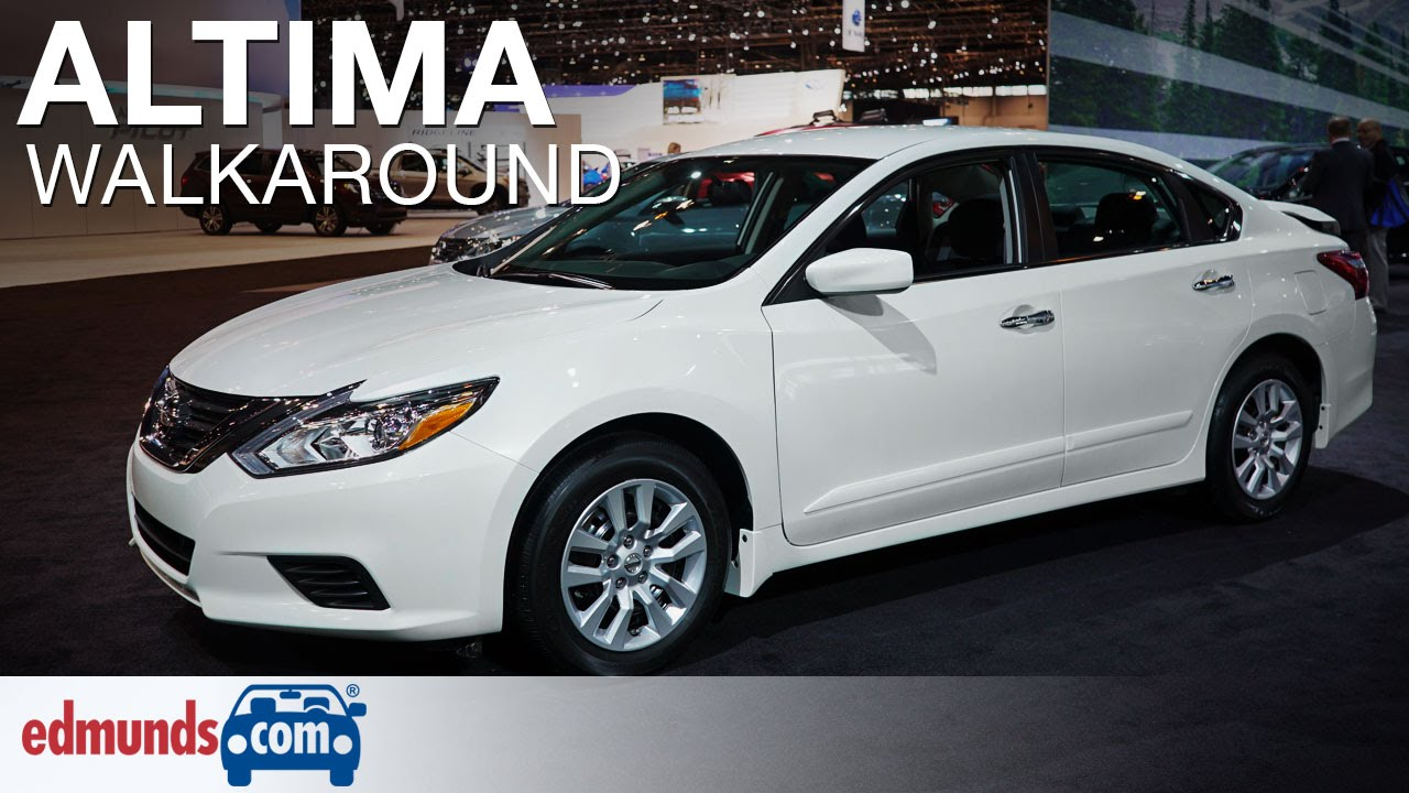 2016 Nissan Altima Walkaround Edmunds