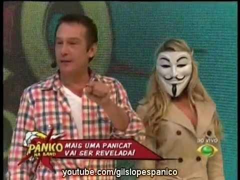 Pânico Na Band 08/04/2012 - Revelação da Nova Panicat - Carol Narizinho