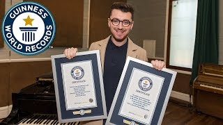 Sam Smith achieves two Guinness World Records titles