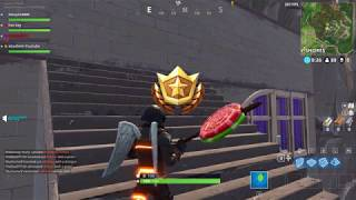 "Follow the treasure map found in Greasy Grove - Fortnite Week 5 Challenge ""LEAKED"""