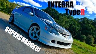 Supercharged Honda Integra Type R DC5 - Inside Lane
