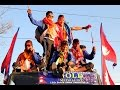 Nepali Football team receive heroic welcome after Winning Gold Medal at SAG Game