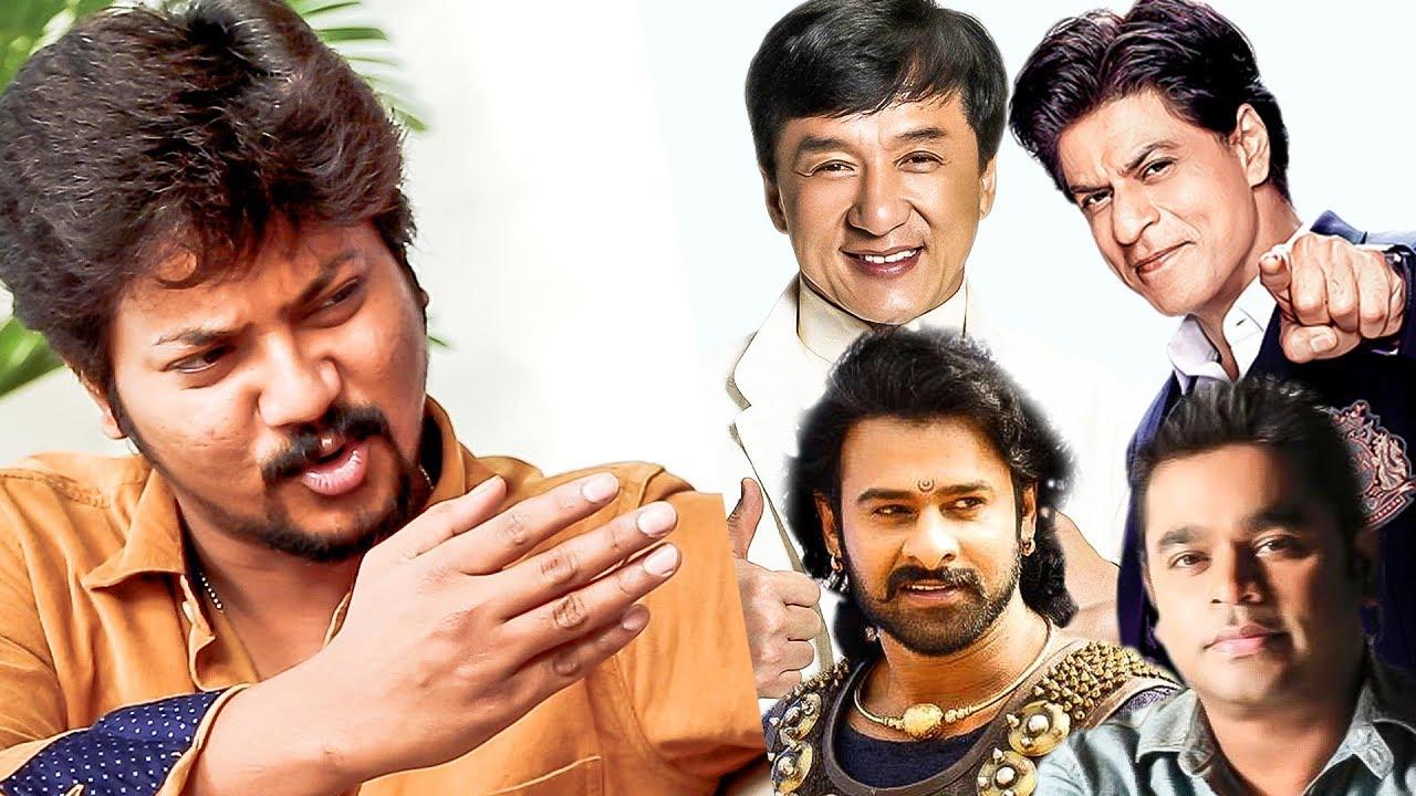 ARR, Vijay Antony, SRK, Baahubali, Jackie Chan | Azhar's Mimicry Marathon | US 31