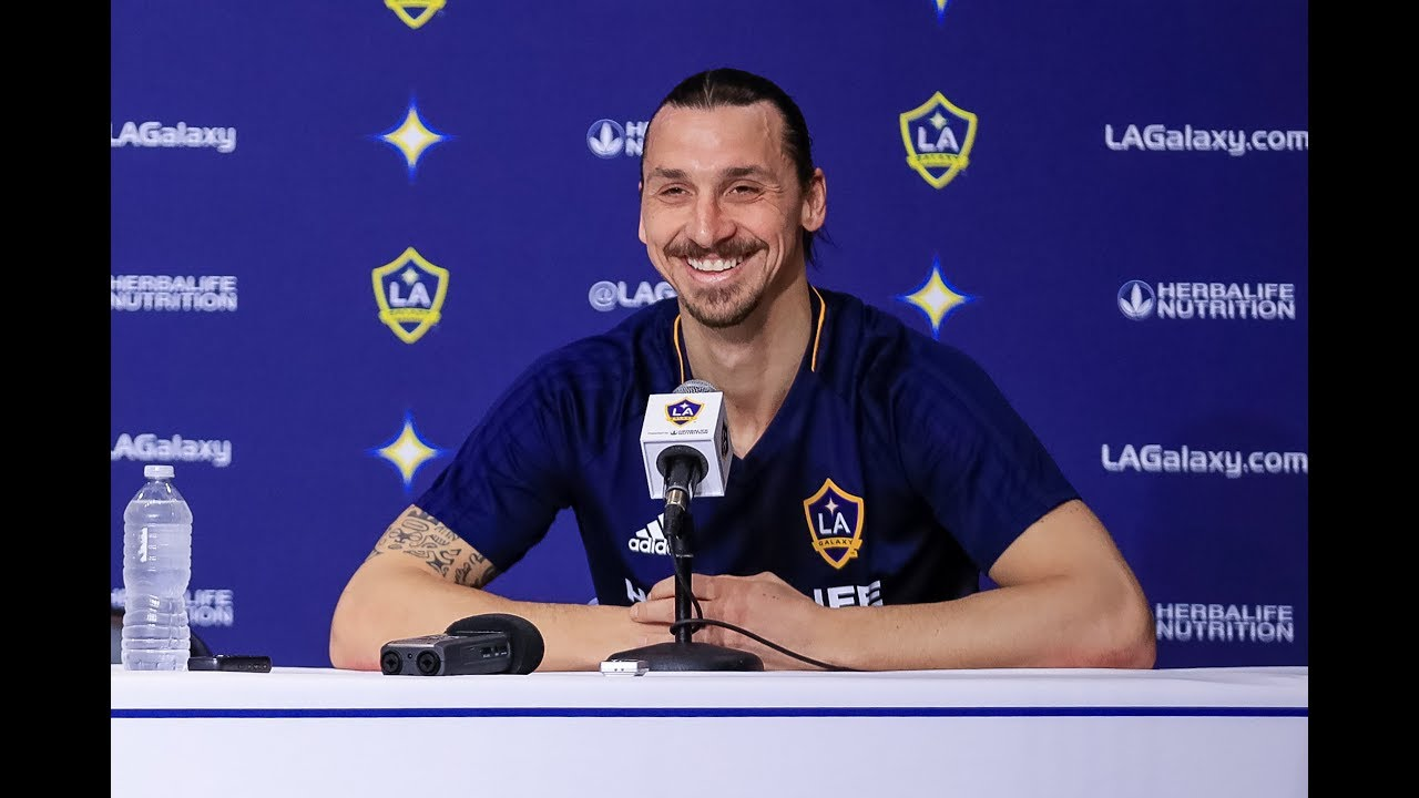 Image result for zlatan ibrahimovic at la galaxy