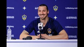 Full Press Conference: Zlatan Ibrahimovic after scoring two goals in LA Galaxy debut
