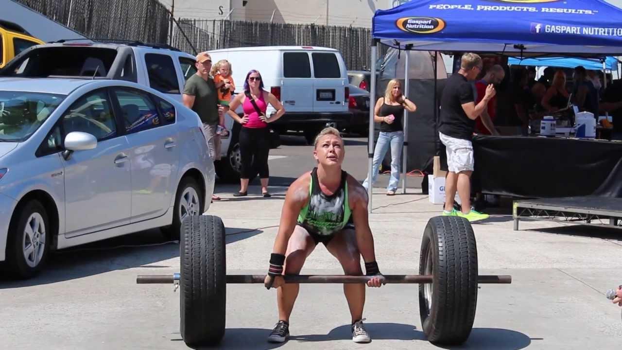 Jennie @ California's Strongest Woman - YouTube
