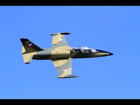 GIANT SCALE TOMAHAWK L-39 ALBATROS TRAINER - MARK AT BMFA NATIONALS - 2017