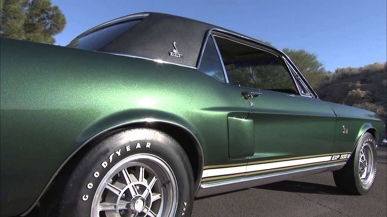 Lot 5022 1968 shelby exp500 the green hornet