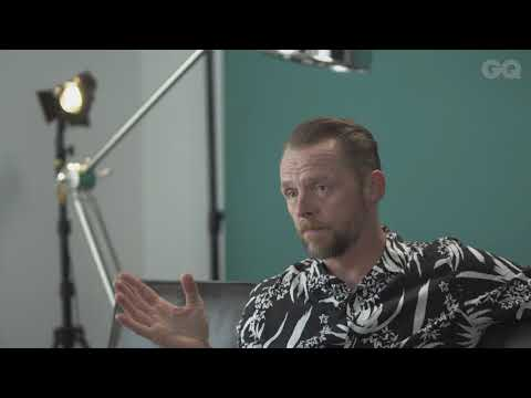 Simon Pegg plays Would You Rather?  British GQ