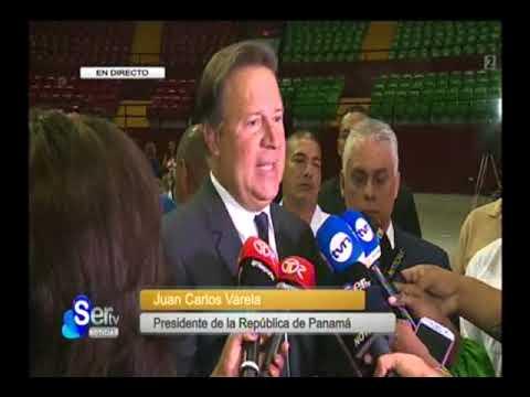 SERTV declaraciones del presidente Juan Carlos Varela – entrega masiva del CEPADEM en el Roberto Dur
