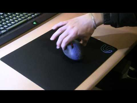 Logitech G240 Cloth Gaming Mousepad Unboxing