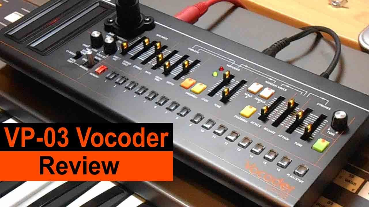 roland vp 03 vocoder synthesizer user review vp 330 boutique youtube. Black Bedroom Furniture Sets. Home Design Ideas