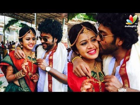 VJ Anjana gets married to Kayal Chandran | Wedding