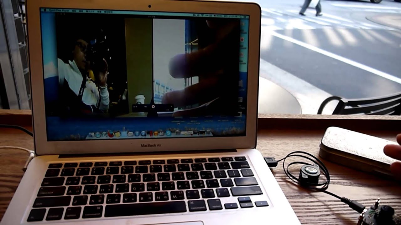 USB 360 degree fisheye camera for video conference demo on MAC