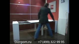 видео Стол-трансформер для хозяйки журнально-обеденный