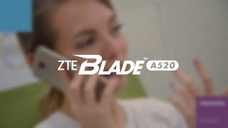 Видеообзор смартфона ZTE Blade A520