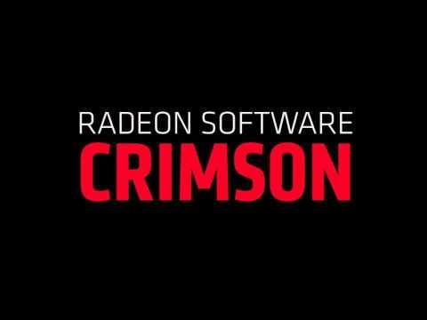 Radeon Software Crimson Edition Announcement