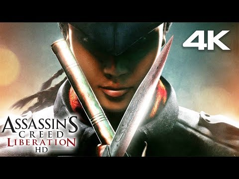 ASSASSIN'S CREED LIBERATION All Cutscenes (Game Movie) 4K 60FPS Ultra HD