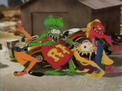 1990 Rat Fink Toy Commercial