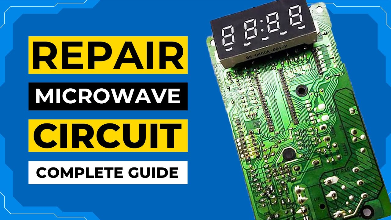 how to repair dawlance microwave oven control panel timer relay circuit microwave oven