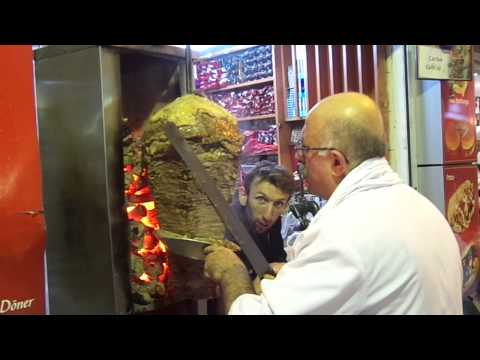 Turkish Gyro (Doner)  in Grand Bazaar, Istanbul/TURKEY