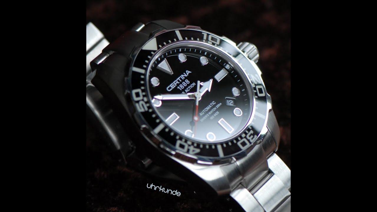 Get Certina Ds Action Diver C013 407 47 081 00 C032 407 11 051 00