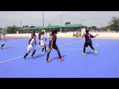 U12 Girls - Barcelona vs Real Madrid (April 16, 2016)