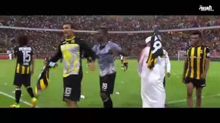 المصري #كهربا يرقص بالطاقية السعودية