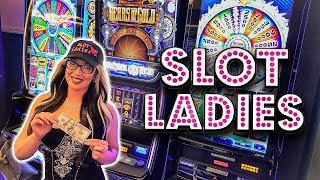 ⚙️27 FREE GAME$ RETRIGGER WIN ⚙️Gears of Gold Grinds Laycee's Gears! 🔥| Slot Ladies