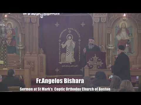Sermon At St Mark's  Coptic Orthodox Church Of Boston