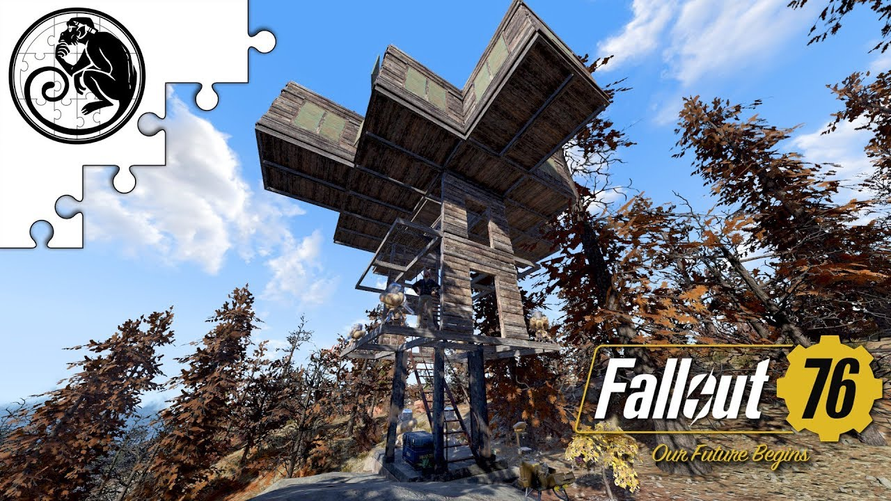 Fallout 76 Camp Build Showcase Maximally Mobile Full Budget Base