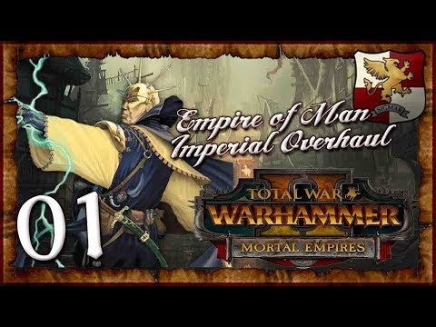Empire Of Man: Imperial Campaign Overhaul | WARHAMMER 2 (The Empire - Gelt) #1