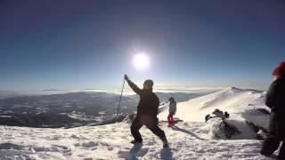Skiing in Turkey. Uludağ
