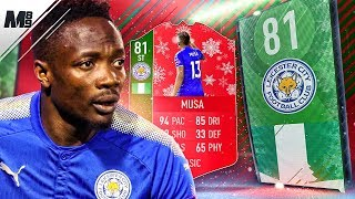 FIFA 18 FUTMAS MUSA REVIEW | 81 FUTMAS MUSA PLAYER REVIEW | FIFA 18 ULTIMATE TEAM