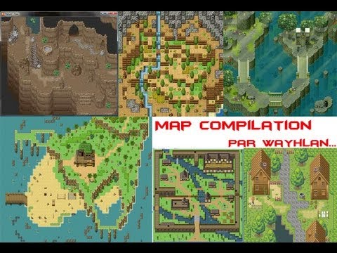 RPG Maker VX Ace Map compilation - YouTube