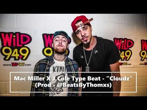 "Mac Miller X J Cole Type Beat - ""Cloudz""  Prod - @BeatsByThomxs"