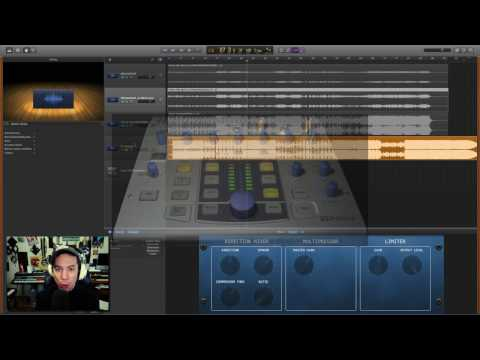 Garageband Mastering Tutorial-Custom Preset for you! - 2017