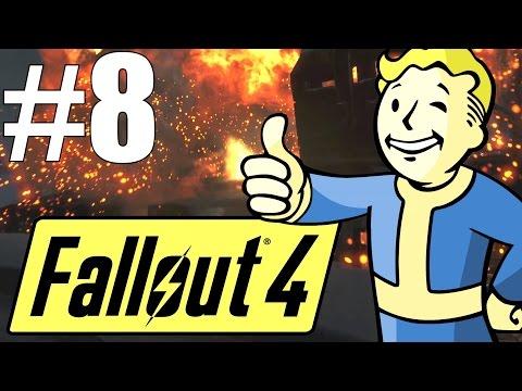 Fallout 4 Lets Play - Part 8 - Rebuilding Sanctuary and Exploring Walden's Pond! (Survival Mode)