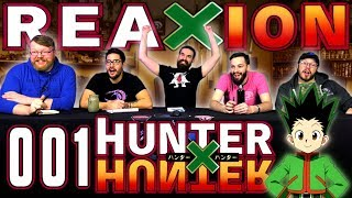 "Hunter x Hunter #1 REACTION!! ""Departure × And × Friends"""