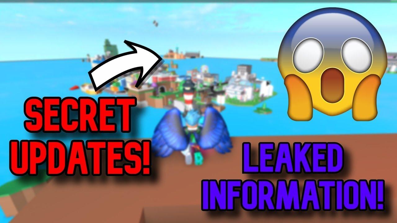 CRAZY SECRETS!! Roblox Superhero City (Leaked updates!)