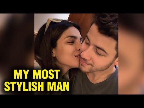 Priyanka Chopra Kisses Nick Jonas For Winning Most Stylish Man Of The Year Award 2018 Mp3