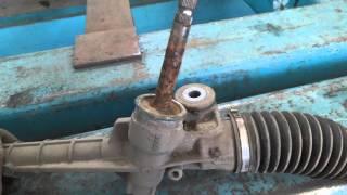 Peugeot 107. ремонт рулевой рейки. пробег 25 тысяч!(, 2016-03-15T22:11:48.000Z)
