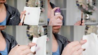 BEAUTY HACK! REMOVE MAKEUP USING DRY SHAMPOO!