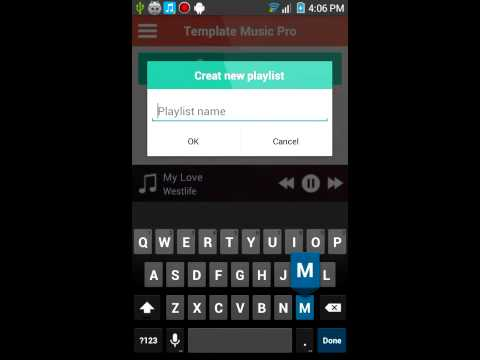 PT Music App With XML For Android - App Templates For Sale